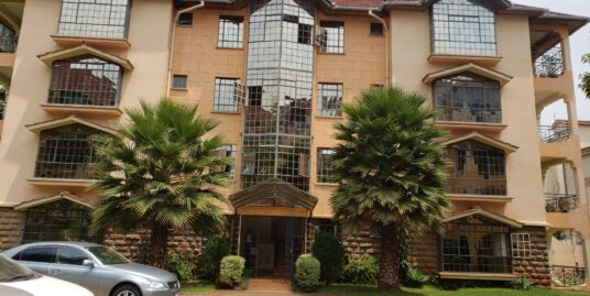 3bedroomed apartment with servant quarter
